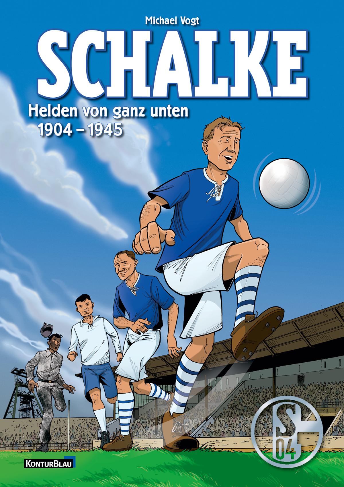 """Cover """"Schalke"""", erschienen 2008 Konturblau-Verlag"""