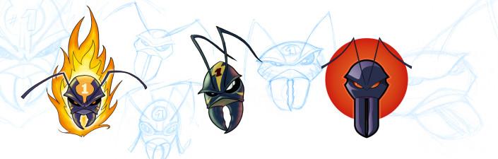 Maskottchen-Entwurf