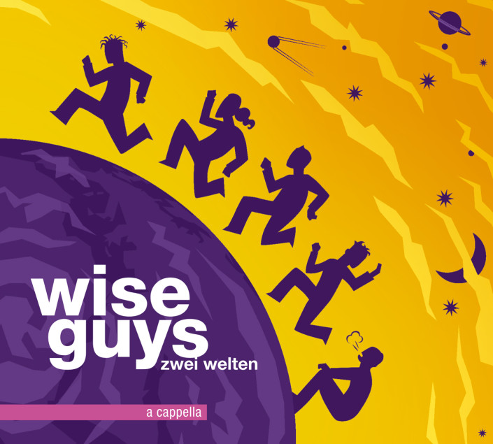 Cover-Illustration CD | Wise Guys/Zwei Welten